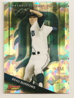 2015 BOWMAN'S BEST BEAU BURROWS TOP PROSPECTS ATOMIC REFRACTOR CARD (TIGERS)