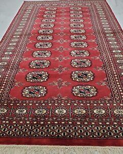 Geometric Bokhara Oriental Area Rug Hand-knotted Home Decor 3'x5' Carpet Bokara