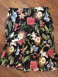 Marks And Spencer Size 18 Salsa Style Tropical Skirt