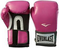 Everlast Women's Pro Style Training Gloves, Pink, 8 oz., Boxing Gloves, New