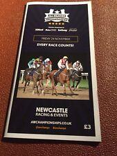 Newcastle Race Card, 24th November 2017
