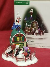 Christmas in July! Dept 56 North Pole Petting Zoo North Pole Series