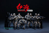 JOYTOY OPERATION RED SEA Action Figure 1/25 Scale Model Painted Collection Toy