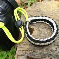 Braided Paracord Wrist Strap Lanyard for Canon Nikon Sony DSLR SLR Camera