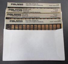 Polaris ATV Microfiche Parts Manual 1994 400L Trail Blazer Boss Sportsman 300