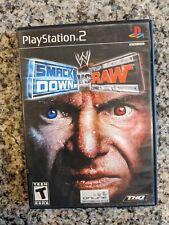 WWE SmackDown vs. Raw PS2 (Sony PlayStation 2, 2004) No Manual