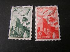 *ALGERIA, SCOTT # C8+C10(2),1949-53 AIR POST VARIOUS PLANES ISSUE USED