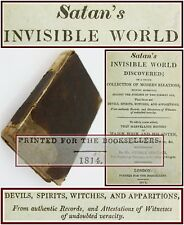 1814*SATAN'S INVISIBLE WORLD DISCOVERED*DEVILS/WITCHES/WITCHCRAFT*SCOTLAND*RARE*