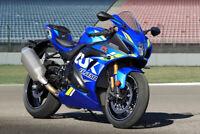Neu Verkleidungssatz Verkleidung Fairing für Suzuki GSXR750 600 08-10 Blau Grün