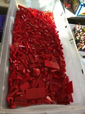 lego Bulk red brick 5lbs