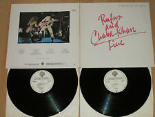 2xlp Rufus and Chaka Khan Live-STOMPIN at the Savoy-Tony Maiden