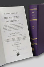 A Dissertation on the Philosophy of Aristotle by Thomas Taylor