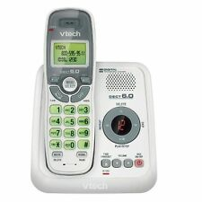 VTech CS6124 Cordless Phone With Digital Answering System White