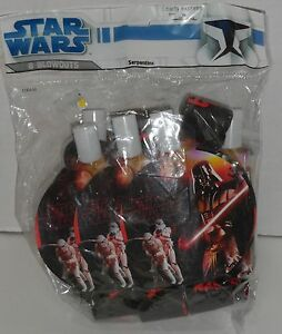 NEW (8) STAR WARS DARTH VADER BLOWOUTS Birthday Party Favors Supplies Favors