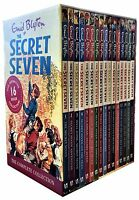 Enid Blyton Secret Seven 16 Books Collection Box Set Children Gift Pack