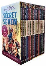 Enid Blyton Secret Seven 16 Books Collection Box Set Children Gift Pack