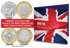 2018 Commemorative Coin Collecting Pack [Ref 923R]