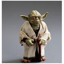 Star Wars Clone Mini Action Figure Toys Yoda Jedi Knight Master Attack Statue
