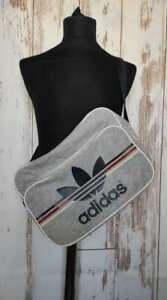 "Adidas Originals Messenger Crossbody Shoulder Bag 2012 Grey 15""x11""x4"""