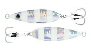 Shimano Butterfly Flat-Fall Jig - Sinking Flat Fall- Zebra Glow - Free Shipping