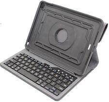 OtterBox Agility Portfolio Bundle + Keyboard for Apple iPad Air 2, Black Leather