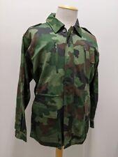 Original Vintage 1990's Serbian Army M93 Camo Field Jacket, Unissued, Never Worn