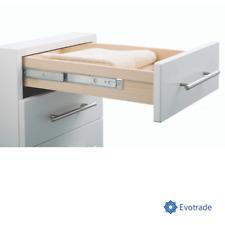 Guide Scorrevoli H 17 mm portata < 15kg per cassetto Estrazione Parziale INDAUX