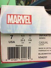 "Original ""Marvel"" Reebok Toddler Sneaker"