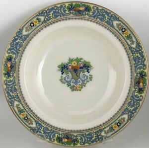 """Lenox Autumn Rimmed soup bowl 8 1/4 """" - GOLD MARK"""