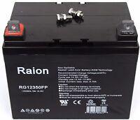 Raion Power RG12350FP Sealed AGM Deep Cycle Battery 12 Volt 35 Amp Hour