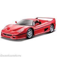 Bburago FERRARI F50 RED 1/24 Diecast cars NEW IN BOX 18-26010RD