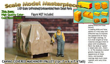 CANVAS COVERED MACHINERY Palleted (1pc) Scale Model Masterpieces/YORKE 1;87/HOn3