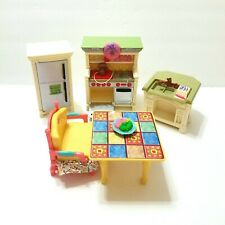 New ListingFisher Price Loving Family Kitchen Furniture Dollhouse Playset