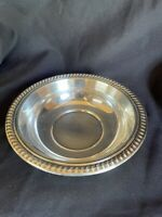 Vintage F.B. Rogers 6.5 In. Round Wreathed Pattern Silver Plate Bowl