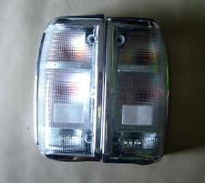 Pair Tail Light Clear Lens for Mazda B2000 B2200 B2600 Truck Pickup Ute
