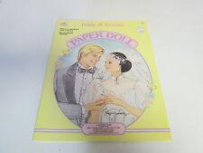 Vintage Bride & Groom Paper Doll Book - A Golden Book 1988