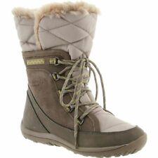 BEARPAW Whitney WATERPROOF Rain INSULATED Snow WINTER Faux Fur BOOT Women size 7