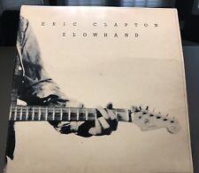 Eric Clapton Slowhand 35th Anniversary 33 1/3 RPM 12'' Vinyl Record LP 1977 Vtg