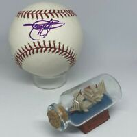 Todd Helton signed Rawlings OML Baseball JSA COA Rockies All Star HOF A2103