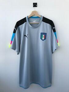 ITALY ITALIA NATIONAL TEAM 2016 GOALKEEPER JERSEY SHIRT FOOTBALL CAMISETA PUMA