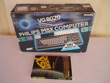 MSX Phiilps VG 8020 Homecomputer Computer 80er Jahre - OVP