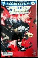 JUSTICE LEAGUE of AMERICA #1 variant (2017 Rebirth DC Comics)~ NM Comic Book JLA