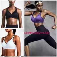 Nike Pro Rival Women's  High Support Sports Bra Running Tennis Gym