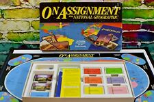 On Assignment With National Geographic Travel Board Game 1990 Vintage