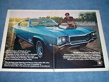 """1968 Buick GS-400 Vintage 2pg Color Ad """"Wouldn't You Really Rather Have A Buick?"""