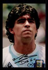 Maradonna ++Autogramm++ ++Weltmeister 1986++CH 176