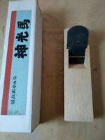 70.0mm kami mituuma japanese vintage woodworking carpentry hira plane kanna 2J