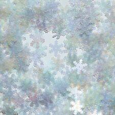 "Snowflake Sequin Crystal Iris Rainbow Iridescent 15mm (5/8"") Twinkle Flake"