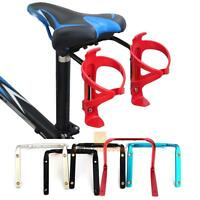 Cycling Bike Bicycle Seat Post Back Double Water Bottle Holder Cage Rack Adapter