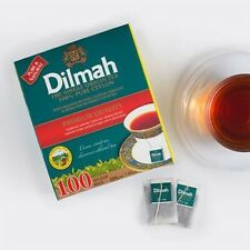 Dilmah Premium Pure CEYLON TEA 100 x INDIVIDUALLY WRAPPED TEA BAGS